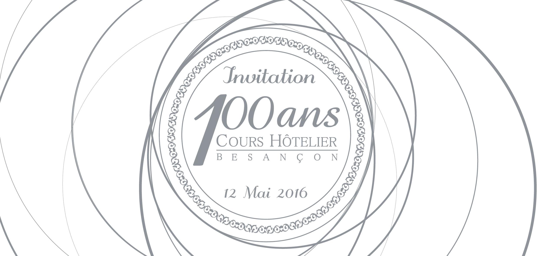 Carton invitation-Cours Hôtelier