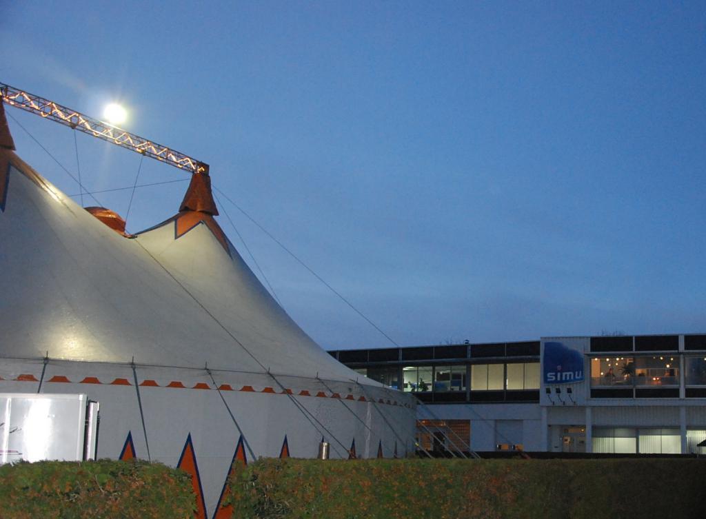 Le cirque Gruss pour SIMU - Chapiteau