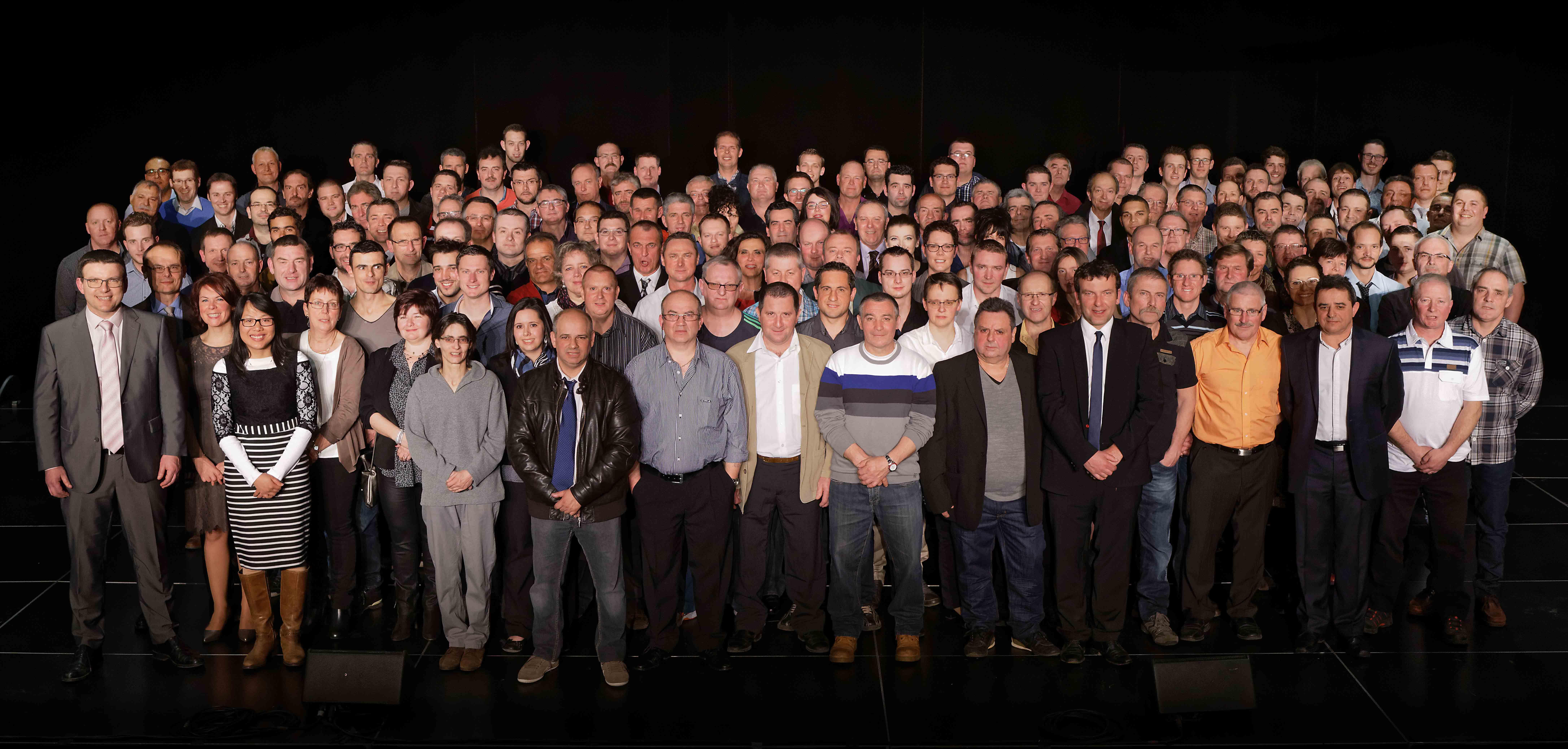 Les 160 ans de Waltefaugle photo de groupe